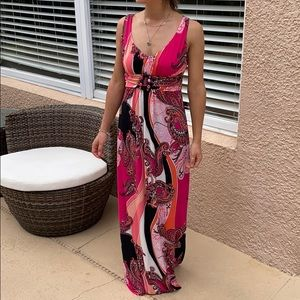 Bisous Bisous maxi dress